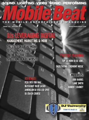 Mobile Beat Magazine Features Article On DJ Event Planner (DJ Event